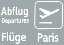 FLUEGE NACH PARIS FLUG PARIS