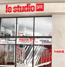 sfr Shop Le Studio Paris fŸr prepaid SIM Card 3G Internet via UMTS